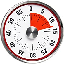 BALDR B8002 Kitchen Timer, Red