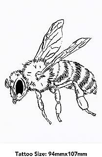 Large 'Honey Bee' Temporary Tattoo (TO00033632)