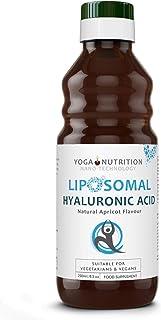 Yoga Nutrition Ácido Hialurónico Puro Liposomal 250ml Sin Conservantes Artificiales. Vegano. Ayuda a Eliminar Arrugas y Aporta Volumen. Cosmética Natural.