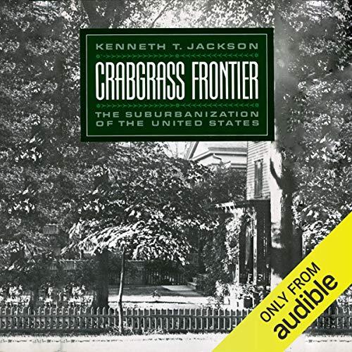 Crabgrass Frontier audiobook cover art