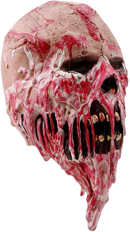 DGDJ Masque HalFaibleeen Horror Latex pour Adulte