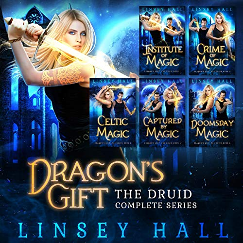 Dragon's Gift: The Druid Complete Series audiobook cover art