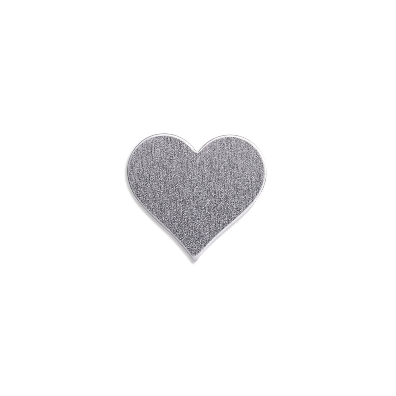 RMP Stamping Blanks, 1 Inch Heart, Aluminum .032