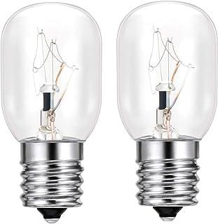 2 Pack- 8206232A Light Bulb for Whirlpool 40 Watt E17 130V