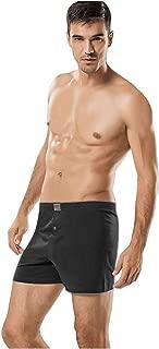Tutku İç Giyim Pamuklu Penye Düğmeli Erkek Boxer 6 Lı Paket