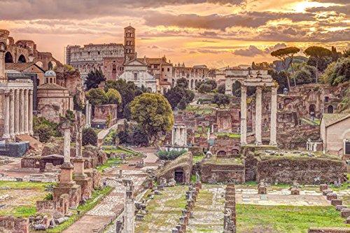 "The Roman Forum, Rome, Italy - Poster / Print (Forum Romanum - Assaf Frank) (Size: 36"" x 24"") (By POSTER STOP ONLINE)"