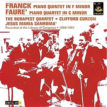 Franck: Piano Quintet in F Minor & Fauré: Piano Quintet in C Minor