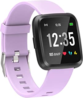 YoYoFit Full Touch Screen Smart Fitness Watch,Fitness Tracker Watch with Heart Rate Monitor Sleep Monitor,Activity Tracker with Multi-Sports Smart Notification Music for Men Women