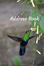 Address Book: With Alphabetical Tabs, For Contacts, Addresses, Phone, Email, Birthdays and Anniversaries (Hummingbird)