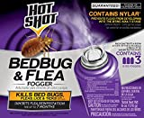 Hot Shot HG-95911 Bedbug & Flea Fogger, Aerosol, 6/3-2-Ounce (Pack of 18)
