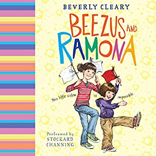 Beezus and Ramona audiobook cover art