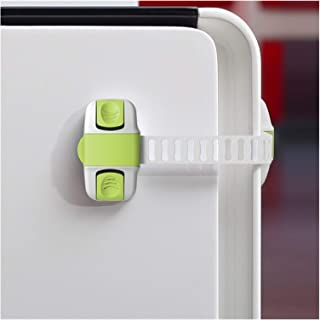 CHAHANG Cabinet Lock 20CM Safety Protection From Safe Locks Security Drawer Latches For Refrigerators Baby lock (Color : G...