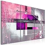 murando - Cuadro en Lienzo 120x80 cm Abstracto - Impresión de 3 Piezas Material...