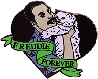 FABULOUS QUEEN Freddie Forever Holding his Beloved CAT 1.25