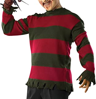 Costume Men's Nightmare On Elm St Deluxe Adult Freddy Sweater