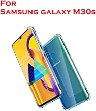 Bracevor Shockproof TPU Back Cover for SamsungGalaxy M30s - Transparent | Cushioned Edges | Flexible Clear Case