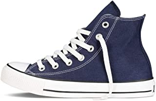 CHUCK TAYLOR ALL STAR Unisex Navy Canvas High Top Sneaker Shoes