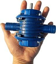 Mini Bomba de agua de taladro manual de autocebado de servicio pesado Micro Motor sumergible ultra Bomba centrífuga para jardín doméstico Ultra Kaemma(Color:blue)
