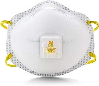 3M - 8516 N95 Nuisance Acid Gas Disposable Respirator (10 per box)