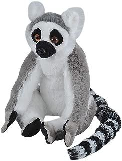 """Wild Republic Cuddlekins Plush Lemur Ring Tailed 12"""""""