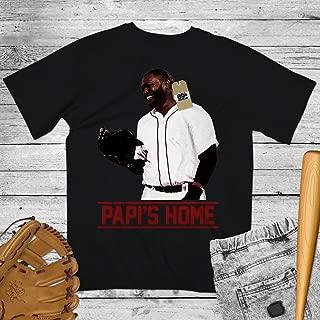 David Ortiz No.34 Papi's Home Baseball Shirt Customized Handmade Hoodie/Sweater/Long Sleeve/Tank Top/Premium T-shirt