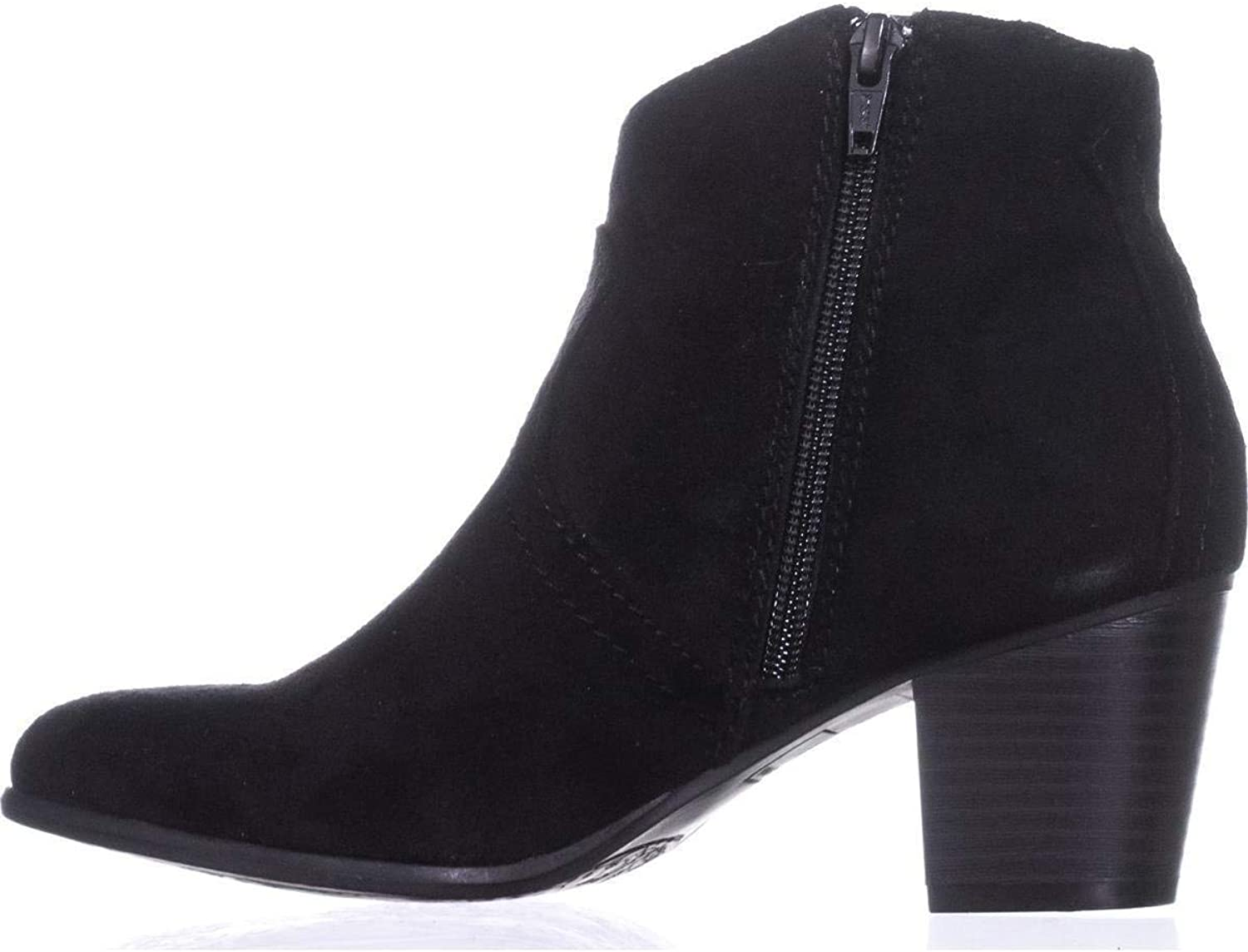American Rag Womens Rylie Almond Toe Ankle Fashion Boots, Black, Size 8.0