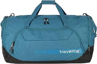 travelite große Reisetasche Größe XL, Gepäck Serie KICK OFF: Praktische Reisetasche für Urlaub und Sport, 006916-22, 70 cm, 120 Liter, petrol türkis