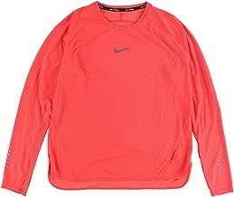 Nike Womens Dri-Fit AeroReact Running Shirt 686957 (X-Large, Bright Crimson)