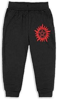 Easionerol Supernatural Red Logo Girls Long Sweatpants Jogger Trousers