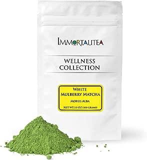 White Mulberry Matcha Style Tea Powder – Blood Sugar Balance Herbal Tea Powder – Caffeine-Free - 3.5 Ounce