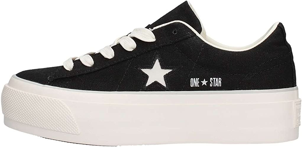 Converse One Star Platform Scarpe Sportive Donna Nere