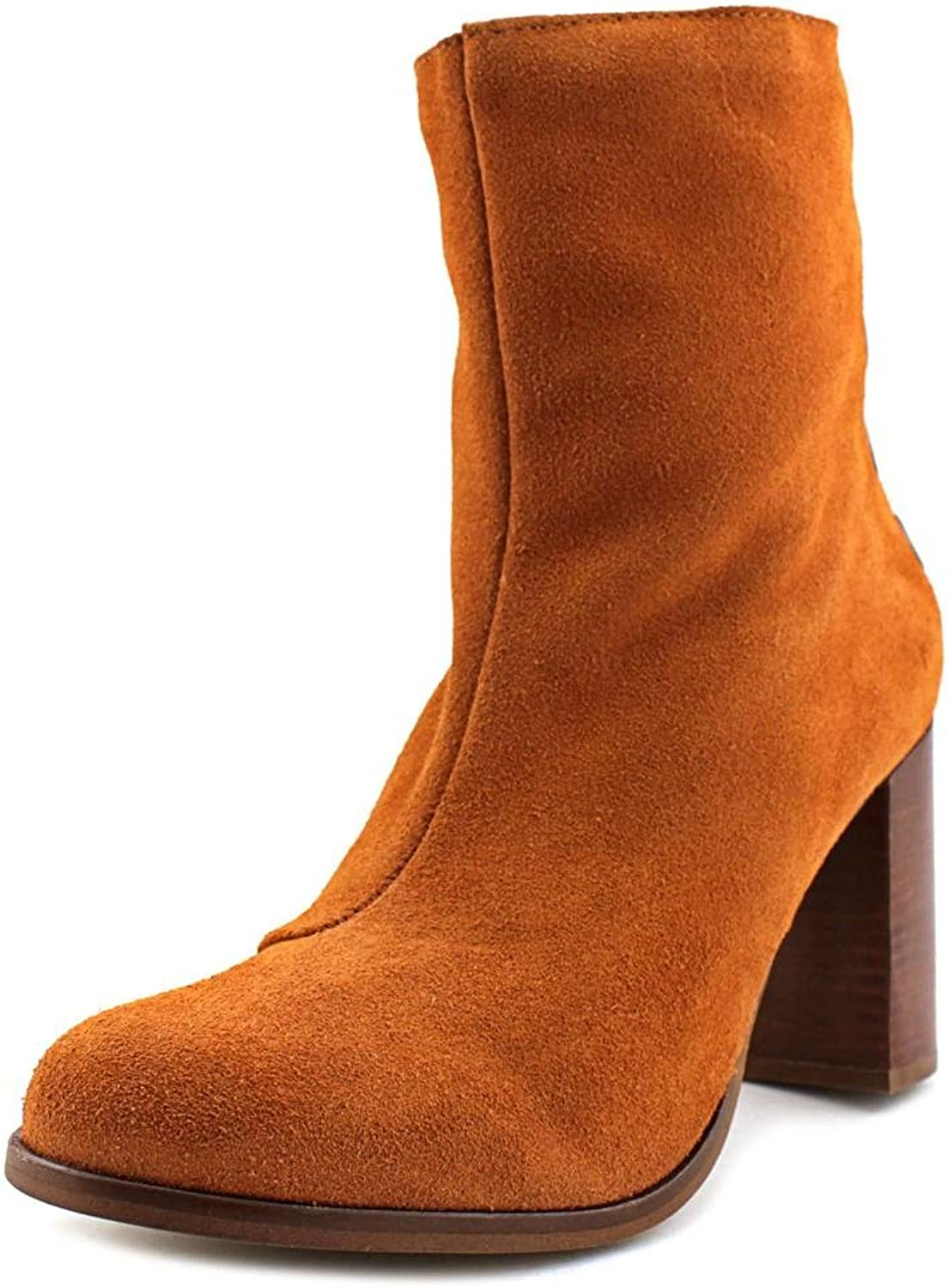 Musse & Cloud Millie Women Round Toe Suede Ankle Boot