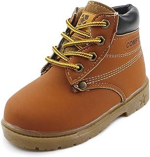 Chiximaxu Maxu Kid's Rain Boots Warm Combat Shoes(Toddler/Little Kid)