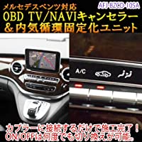 メルセデスベンツ TV/NAVIキャンセラー&内気循環固定化ユニット V-Class(W447)用 国内正規品 日本仕様 OBD 挿し込むだけで施工終了