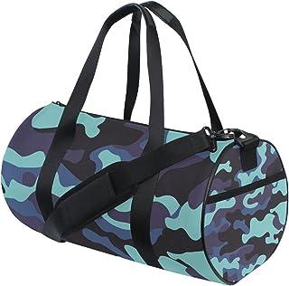 Ahomy Camo Camouflage Gym Schultertasche Sporttasche aus leichtem Segeltuch Reisetasche
