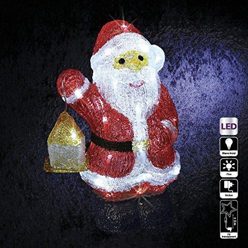 Feerie Christmas Decorazione di Natale Luminosa di Esterno–Babbo Natale