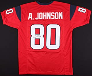 Andre Johnson Autographed Signed Houston Texans Jersey - JSA Certified