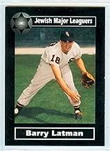 2003 Jewish Major Leaguers 86 Barry Latman Chicago White Sox Cleveland Indians Houston Astros Angels