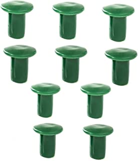10PCS Soft Garden Cane Caps Bamboo Cane Topper Protectors To