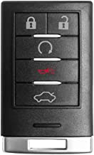 $34 » VOFONO Keyless Entry Remote Smart Key fob Compatible with Cadillac STS/CTS 2008 2009 2010 2011 2012 2013 (FCC ID: M3N5WY77...