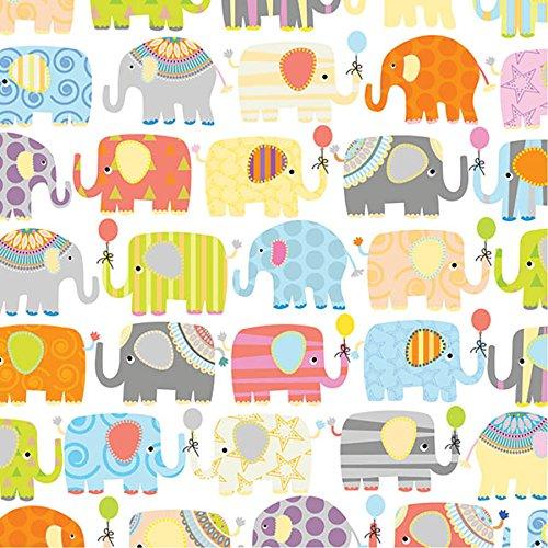 Parade of Elephants Wrap Flat - 24' x 6'
