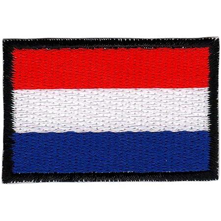 Patch Niederlande Flagge Klein Netherlands Holland Aufnäher Bügelbild Größe 4 5 X 3 0 Cm Auto