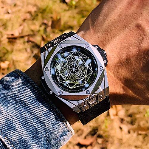 Miwaimao Net-a-go Concepto Stenson con El Reloj De Cuarzo Erizo Hombres Estudiantes Tendencia Impermeable Reloj Mecánico Totalmente Automático
