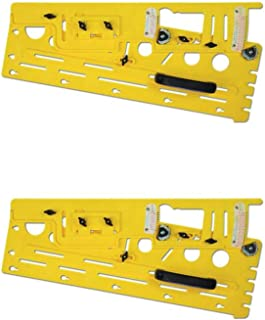 Microjig Woodworking Microdial Table Saw Tapering Jig Accessory, Yellow (2 Pack)