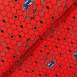 Swafing GmbH Lizenz Jersey Miraculous Lady Bug auf roten