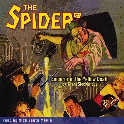 Spider #27, December 1935: The Spider audiobook cover art