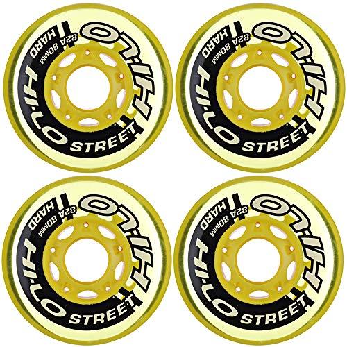 HI-LO Rollen 4er-Set S19 Street 82A Größe 80mm