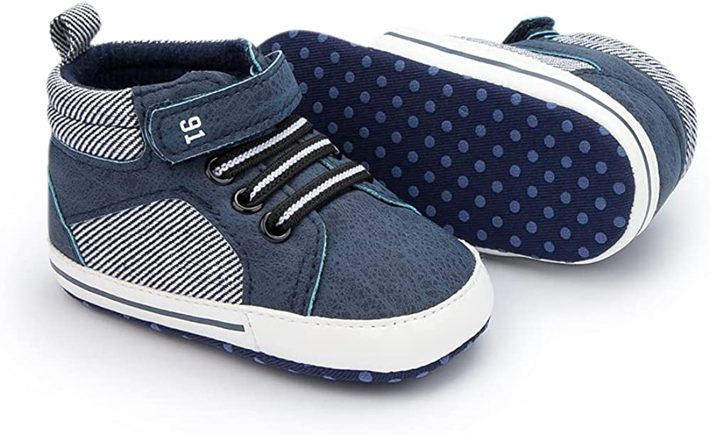 Meckior Toddler Baby Boys Girls Max 79% OFF Outstanding High Ankle Sneakers Soft An Tops
