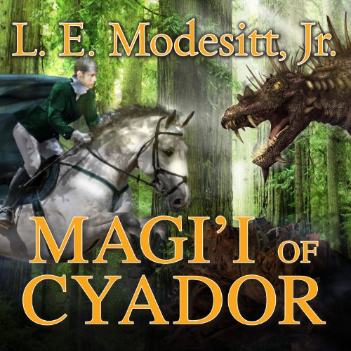 Magi'i of Cyador audiobook cover art