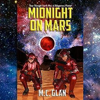 Midnight on Mars audiobook cover art